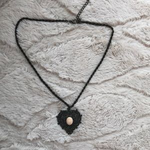 Jewelry - Black/Bronze vintage inspired necklace